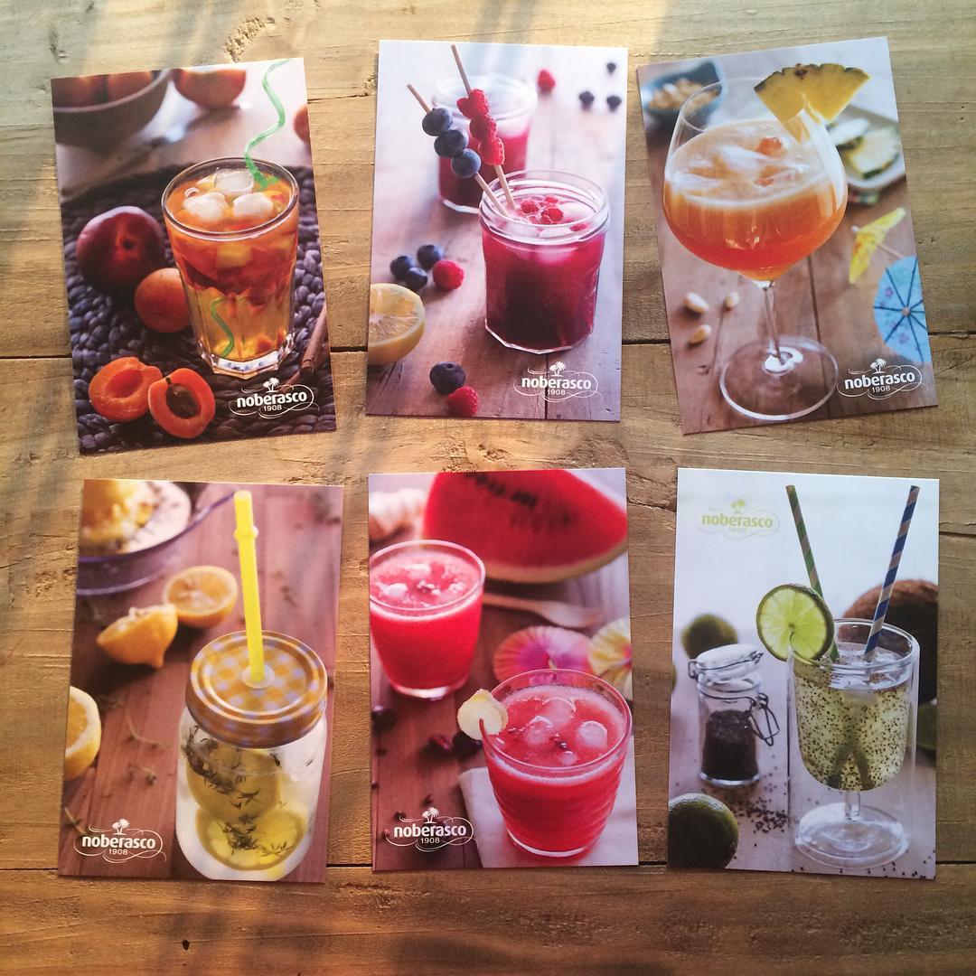 Cartoline drink per Noberasco