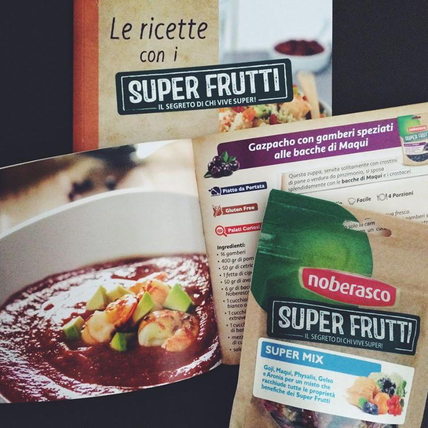 Ricette Superfrutti per Noberasco